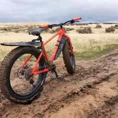 Get fat and dirty! #fatbike #dirty #bicycle #sport