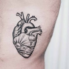 Heart tattoo by 23Dogma