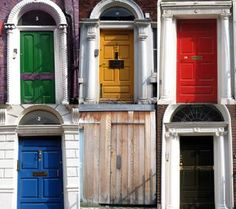 A colorful door is an easy way to give your home visual appeal on the cheap.