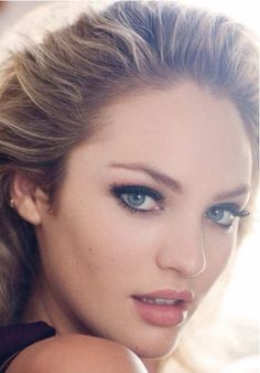 Eyes...., lips - love make-up!!!