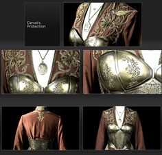 Cercei Lannister's armour costume // Game of Thrones--- The metal corset thing is interesting