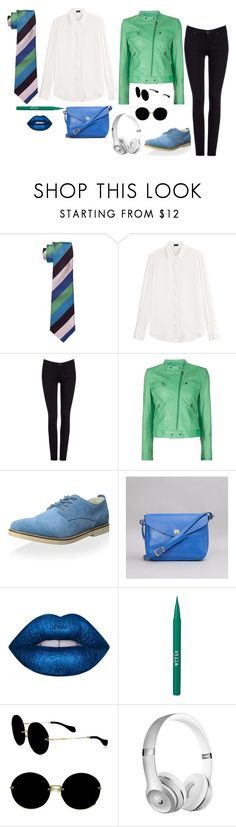 """""""Untitled #106"""" by littleapplecat ❤ liked on Polyvore featuring Paul Smith, Joseph, Lee, Tomas Maier, Pointer, Mimi Berry, Stila and Miu Miu"""
