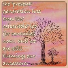 Wishes, Messages, Greetings....: Generation gap