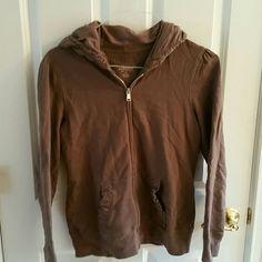 SALE Brown cute sweatshirt . Never worn. Sonoma Tops Sweatshirts & Hoodies