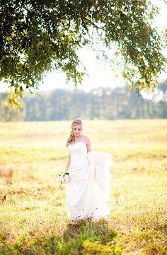 Beautiful Bridal Session in Greensboro North Carolina