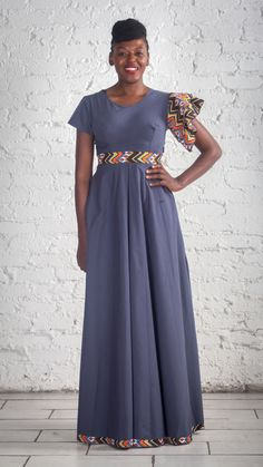 Urban Zulu African Print Designer Dress African Design, Zulu, Designer Dresses, Print Design, Urban, Designer Gowns, Zulu Language