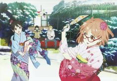 Kyoukai no Kanata Wallpaper HD by corphish2.deviantart.com on @DeviantArt