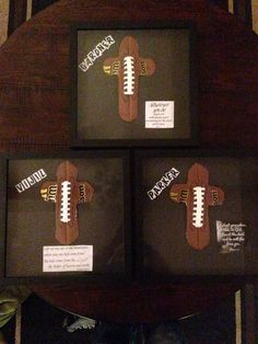 Football gifts I made for a few La Vernia high school football players. Football Treats, Football Signs, Football Cheer, Football Quotes, Senior Football Gifts, Football Season, Football Presents, Softball, Football Player Gifts
