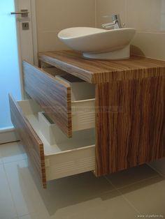 Fürdőszoba bútor, fürdőszoba szekrény, mosdószekrény, mosdó alsószekrény, fürdőszoba bútor készítés - STYLEFORM.HU
