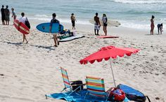 Grab your sunscreen- public beaches in New York are opening this Saturday (May New York City Guide, York Beach, Rockaway Beach, Long Beach Island, Surf City, Beach Tops, Coney Island, Travel Inspiration, Places To Go