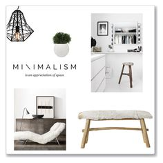 """Minimal"" by hellodollface ❤ liked on Polyvore featuring interior, interiors, interior design, home, home decor, interior decorating, Bloomingville and Minimaliststyle"