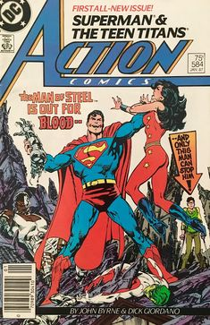 Chris is on Infinite Earths: Action Comics #584 (1987)