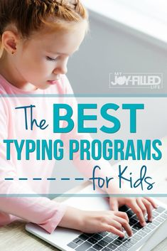 Teaching your kids to type at a young age is a good thing. Get started with one of these typing programs for kids, most of them are even free. #typing #typingforkids #keyboarding
