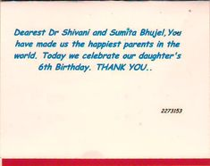 When Words are Not Enough Dearest Dr Shivani Gour and Sumita Bhujel, You have made us the happiest parents in the world. Today we celebrate our daughter's Birthday. Art Fertility, Fertility Center, Happy Parents, Daughter Birthday, Enough Is Enough, Words, Celebrities, Celebs, Celebrity