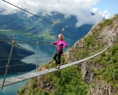 Via Ferrata to Mt. Hoven in Loen