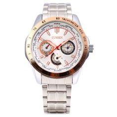 Curren 8150 Male Quartz Watch #women, #men, #hats, #watches, #belts, #fashion, #style