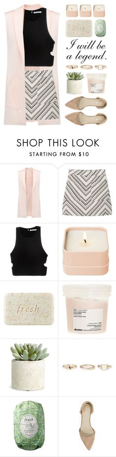 """Confidence: The Best Accessory"" by lover-of-pie ❤ liked on Polyvore featuring Rebecca Minkoff, MANGO, T By Alexander Wang, Henri Bendel, Fresh, Davines, Allstate Floral, Warehouse and Nly Shoes"