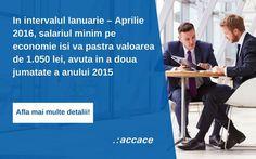 Salariul de baza minim brut pe tara nu va creste decat in luna Mai a anului 2016