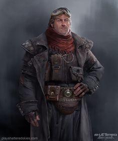 ArtStation - Character concept, Aleksandr Menshikov