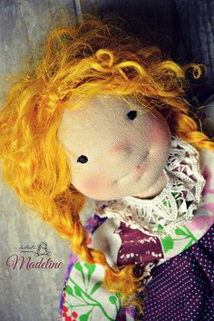 Madeline, by LesPouPZ Handmade Dolls