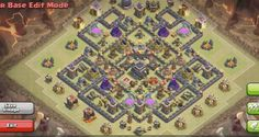 Clash of Clans Town Hall 9 War Base 3 Anti Hog Anti Golem