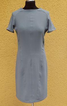 upper palatinate rocks: WOMEN 2014 dress georgette gray/blue