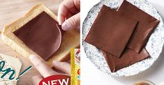 Doctors have been recommending chocolate in your sandwich for years, but the Japanese have finally done it! Bourbon, a Japan-based company, has started to sell chocolate slices packaged like Kraft cheese singles. Each pack contains five two-millimeter (0.08-inch) thick slices.