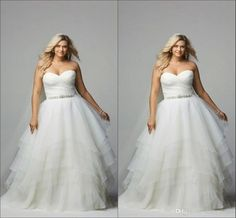 2016 Simple Plus Size Wedding Dresses Bridal Gowns Ruffles Pleats Tiered Sexy Open Back High Quality Organza Crysatls Wedding Party Dress Western Wedding Dresses Ball Gown Dresses From Molly_bridal, $124.61| Dhgate.Com
