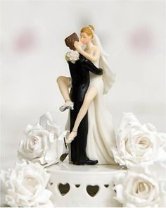 12 Funniest Wedding Cake Toppers (cake topper, wedding cake toppers, wedding toppers) - ODDEE