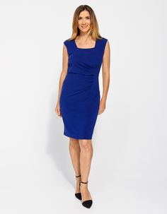 Image for Phoenix Gathered Shift Dress from JacquiE