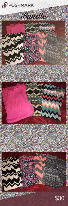 🚨 Rue 21 Maxi Skirt Bundle 🚨 Bundle of 5 adoreable Maxi skirts all in perfect condition! 4 are from Rue21 and the plain pink one is from Body Central! All are size M and all are Maxi length 🚨 FEEL FREE TO MAKE A REASONABLE OFFER! ALL ITEMS ARE BEING DONATED THIS WEEKEND! 🚨 Rue 21 Skirts Maxi