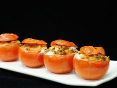 Receta   Tomates rellenos de carne - canalcocina.es