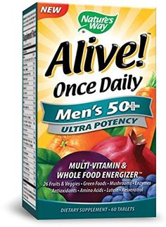 Natures Way Alive Once Daily Mens 50 Ultra Potency * You can get more details by clicking on the image. Note: It's an affiliate link to Amazon.