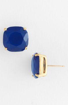 Idée et inspiration Bijoux :   Image   Description   kate spade new york small square stud earrings – Nordstrom