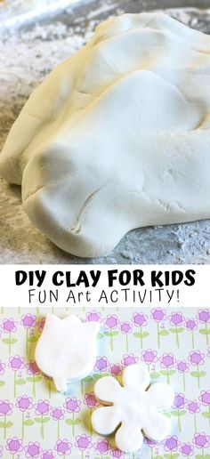 Diy Clay, Clay Crafts, Diy Air Dry Clay, Craft Activities For Kids, Diy Crafts For Kids, Science Activities, Kids Diy, Campfire Crafts For Kids, Craft Ideas