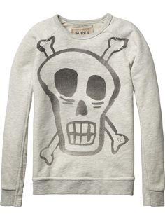 Special Rocker Sweater | Sweat | Boy's Clothing at Scotch & Soda