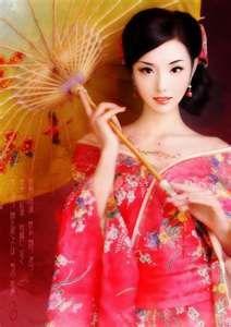 geisha. japans human art.
