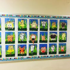 First grade 'jungle surprise'! This is a favorite for a lot of our kiddies! So many different skills mastered in this unit!