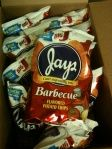 Jays Barbecue Potato Chips – the best!