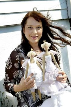 Мир Тильда  This is Tone Fennanger- Designer of Tilda dolls