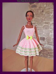 """Dress for Tonner Tyler 16"""" dolls / vestido para muñecas Tonner Tyler 16"""""""