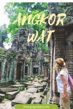 Angkor Wat....Siem Reap, Camboya. Descubre todos sus misterios en el post.