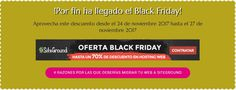 Aprovecha el Black Friday Hosting 70% descuento. 4 Razones por las que deberías migrar tu web a SiteGround