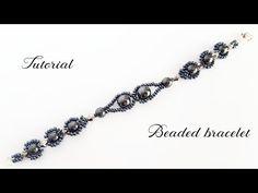 #МК - Браслет из бисера и гематита | Bead bracelet and hematite - YouTube
