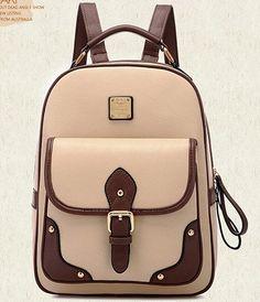 Backpacks Rucksacks PU Leather School