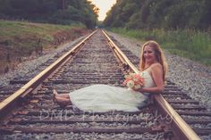 Railroad, Wedding, Bride