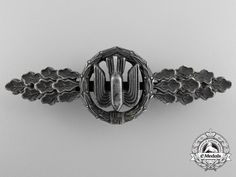 An Early Squadron Clasp for Bomber Pilots; Silver Grade