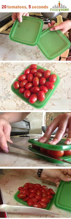Slice 20 tomatoes in 5 seconds, have more time to enjoy tomato season!