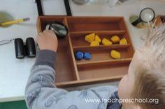 DIY Rainbow Rocks by Teach Preschool