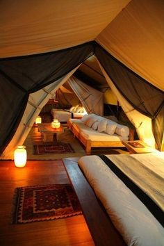 Attic ideas I wouldn't have to change anything just put this up and voila it's a room without effort !